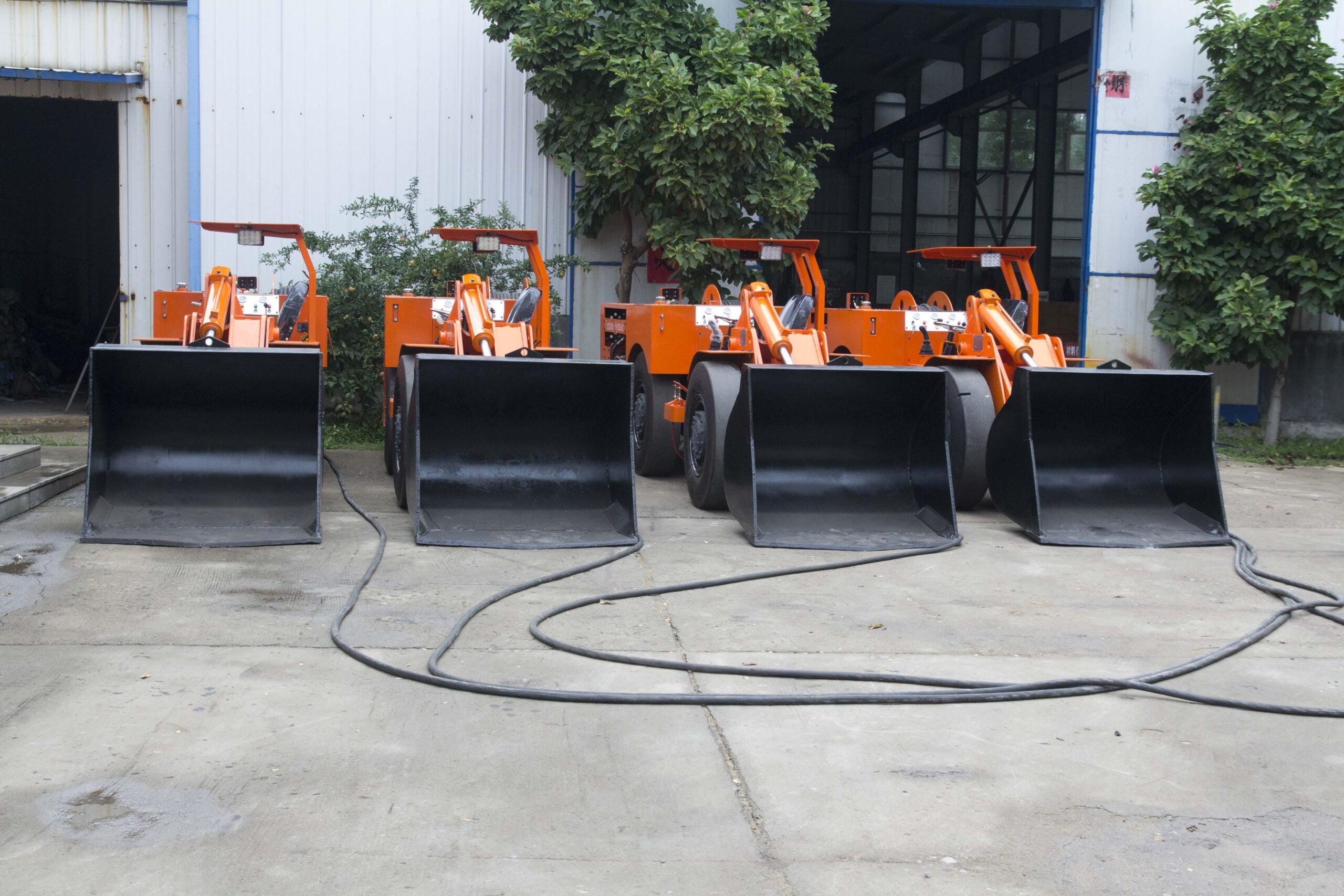 FUCHENG envió 6 unidades de scooptrams eléctricos al extranjero