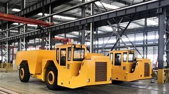 20 toneladas de camiones subterráneos a Venezuela