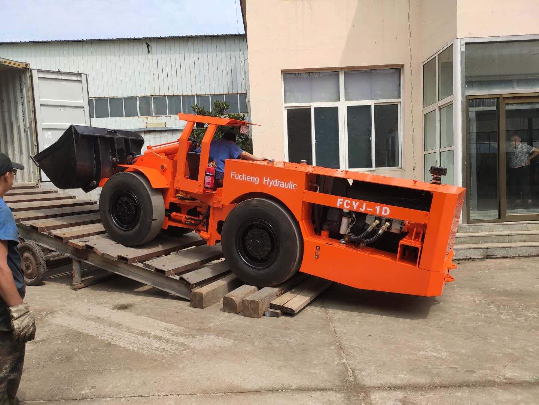 One diesel 1.3yd3 scooptram was shipped Peru