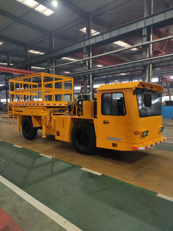 Export diesel scissor lifting truck