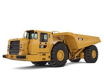 Cat AD45B Underground Haul Truck